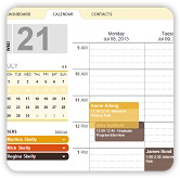 reducde admin screenshot of easy to use calendar interface