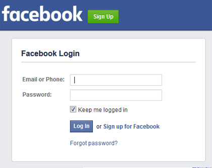 setup facebook screenshot 3