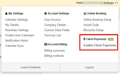 setup stripe payments screenshot 1