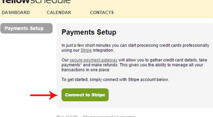 setup stripe payments screenshot 2