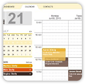 reducde admin screenshot of easy to use calendar scheduling interface