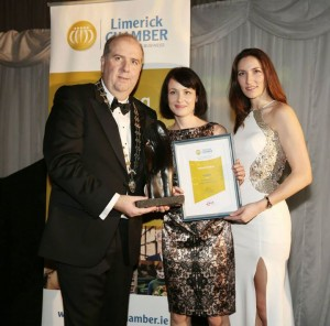 - 2014 Limerick Chamber Regional Business Award for Best Start-Up/Emerging Business   . Cathal Treacy, (Limerick Chamber President), Martina Skelly (YellowSchedule) and Gillian Barry (Enterprise Development and Business Liaison Manager, LIT)